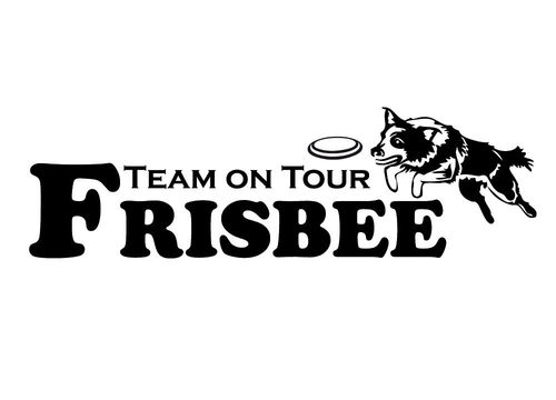 Aufkleber - Frisbee Team on Tour (50x15cm)