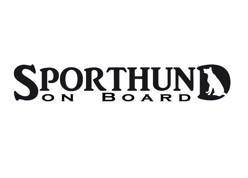 SPORTHUND on Board (15x4,5cm)