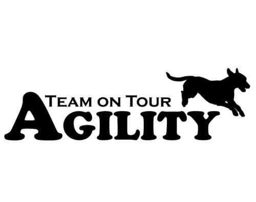 Aufkleber-Agility Team on Tour Jack Russell (15x4,5cm)